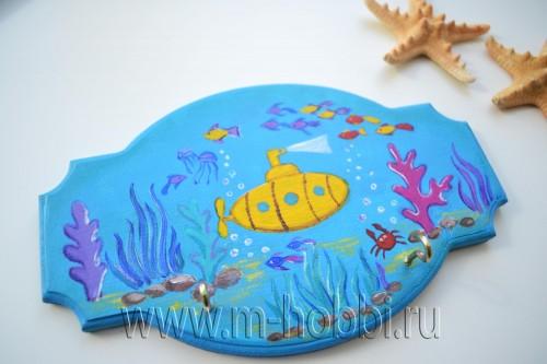 ключница в морском стиле