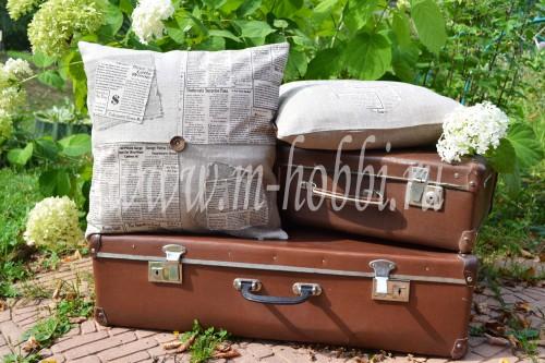 подушки из льна