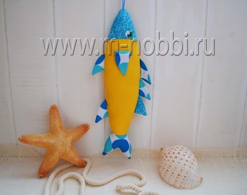 рыбка из ткани