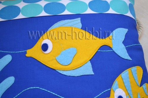 рыбка из фетра