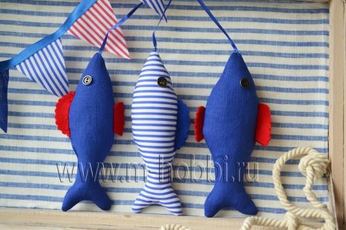 рыбки сшить