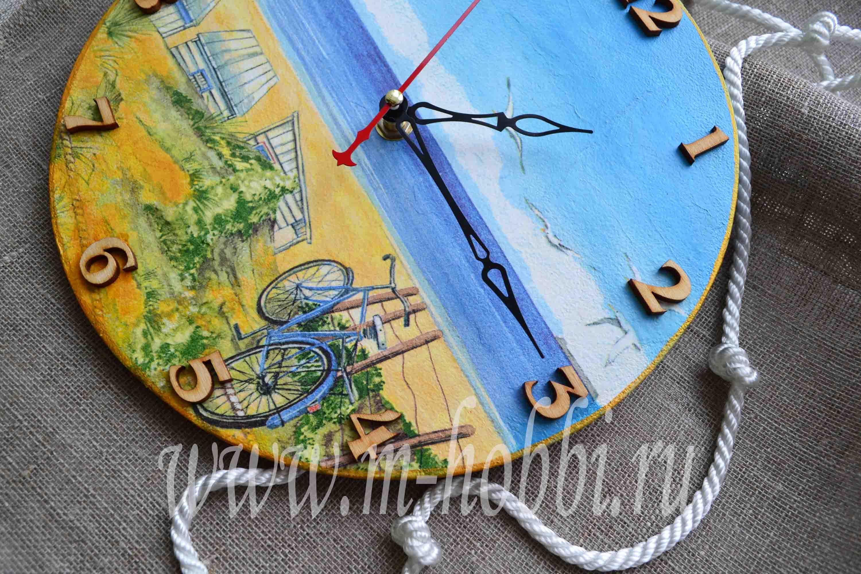 Морские часы настенные своими руками 59