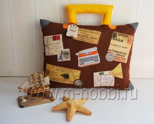 чемодан подушка