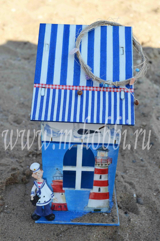 Чайный домик в морском стиле своими руками