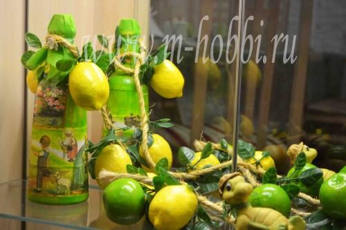 декупаж лимоны