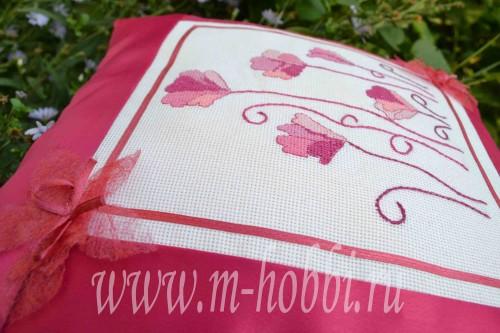 Вышивка крестиком цветы